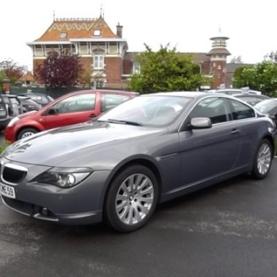 BMW SERIE 6 COUPE d'occasion (12/2006) disponible à Villeneuve d'Ascq