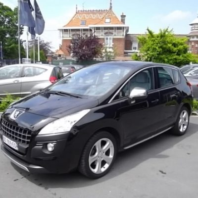Peugeot 3008 d'occasion (10/2009) disponible à Villeneuve d'Ascq