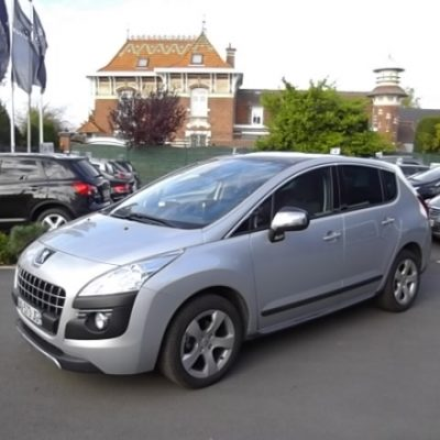 Peugeot 3008 d'occasion (04/2010) disponible à Villeneuve d'Ascq