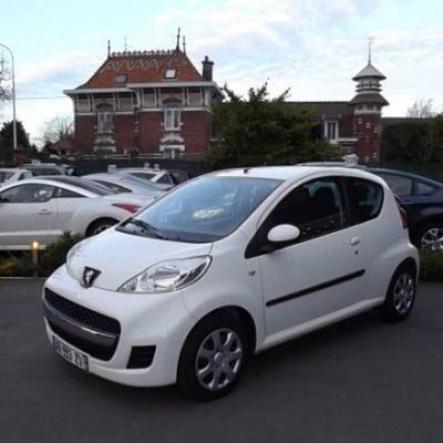 Peugeot 107 d'occasion (07/2009) disponible à Villeneuve d'Ascq