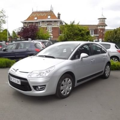 Citroen C4 d'occasion (07/2009) disponible à Villeneuve d'Ascq
