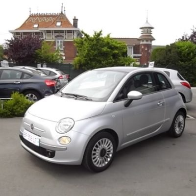Fiat 500 d'occasion (12/2010) disponible à Villeneuve d'Ascq
