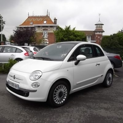 Fiat 500 d'occasion (06/2010) disponible à Villeneuve d'Ascq