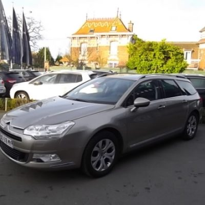 Citroen C5 TOURER d'occasion (10/2009) disponible à Villeneuve d'Ascq