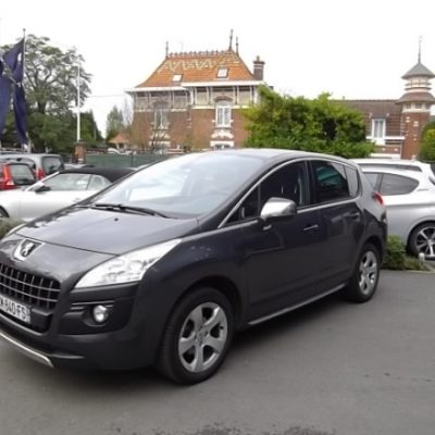 Peugeot 3008 d'occasion (10/2012) disponible à Villeneuve d'Ascq